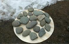 Фильтр из речных камней фото