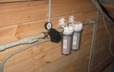 Проводка воды в дом фото